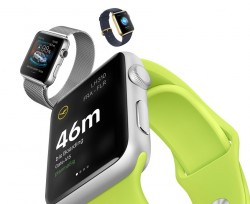 Apps auf Apple Watches (Bild: Apple
