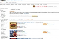 Amazon Sparaktion (Screenshot: CNET.de)