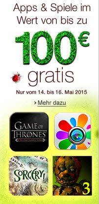 Amazon-Promotion-Aktion (Screenshot: CNET.de)