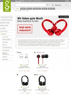 Gravis-Sonderaktion (Screenshot: CNET.de)