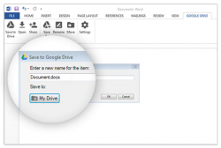 Google Drive in Office (Screenshot: Google)