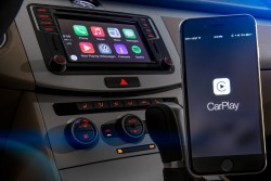 Apple CarPlay (Bild: Volkswagen USA)