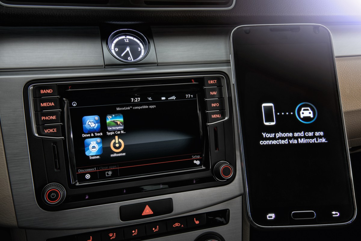 mib ii volkswagens infotainment system unterst tzt android auto apple carplay und mirrorlink. Black Bedroom Furniture Sets. Home Design Ideas