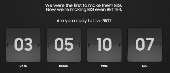 Unpacked Countdown (Screenshot: CNET.de)