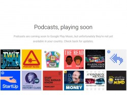 Podcasts in Play Music (Screenshot: ZDNet.de)