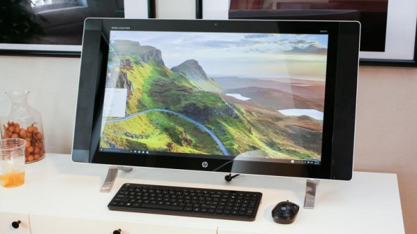 HP Envy Curved All-in-One (Foto: CNET.com).