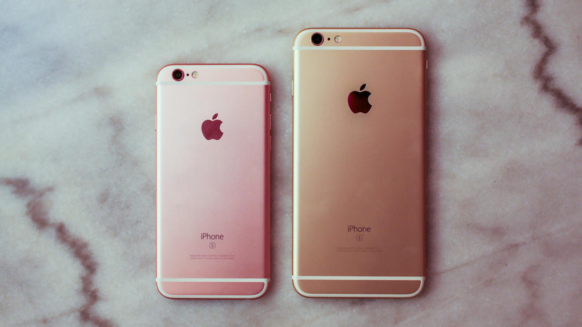 Iphone S  Rose Gold
