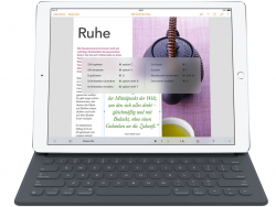 Pad Pro mit Smart Keyboard (Bild: Apple)