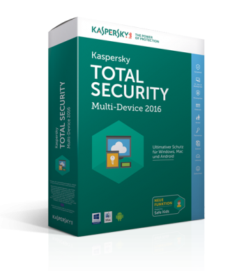 Kaspersky Total Security - Multi Device 2016 (Bild: Kaspersky)