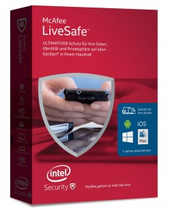McAfee Live Safe (Bild: Intel Security)