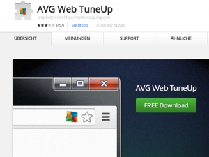 Google Chrome: AVG macht Browser unsicher