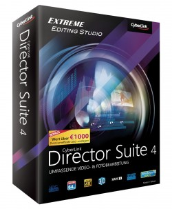 Cyberlink Director Suite 4 (Bild: Cyberlink)
