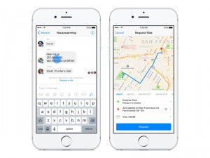 Facebook Messenger erhält Uber-Integration