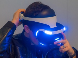 Sony PlayStation VR für PlayStation 4 im Hands-On
