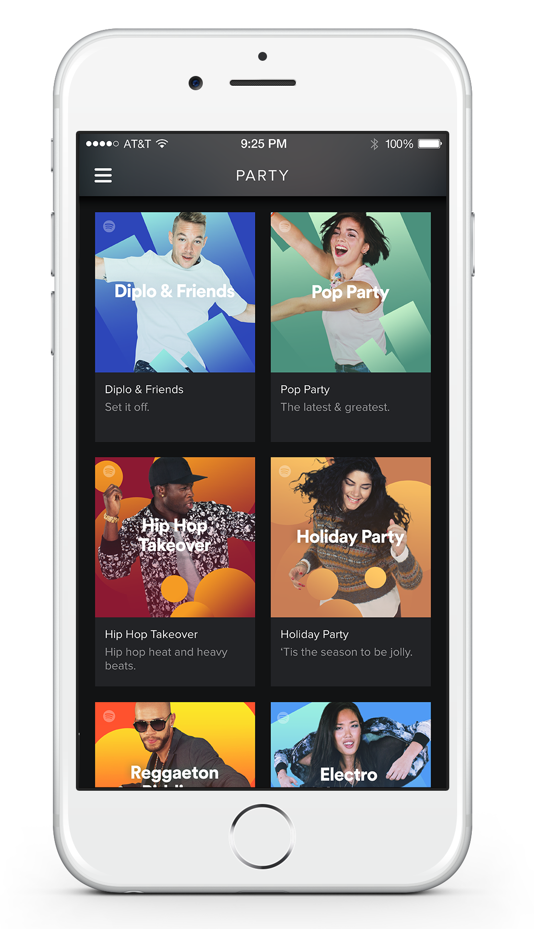 spotify musikstreaming service bringt neues party feature. Black Bedroom Furniture Sets. Home Design Ideas