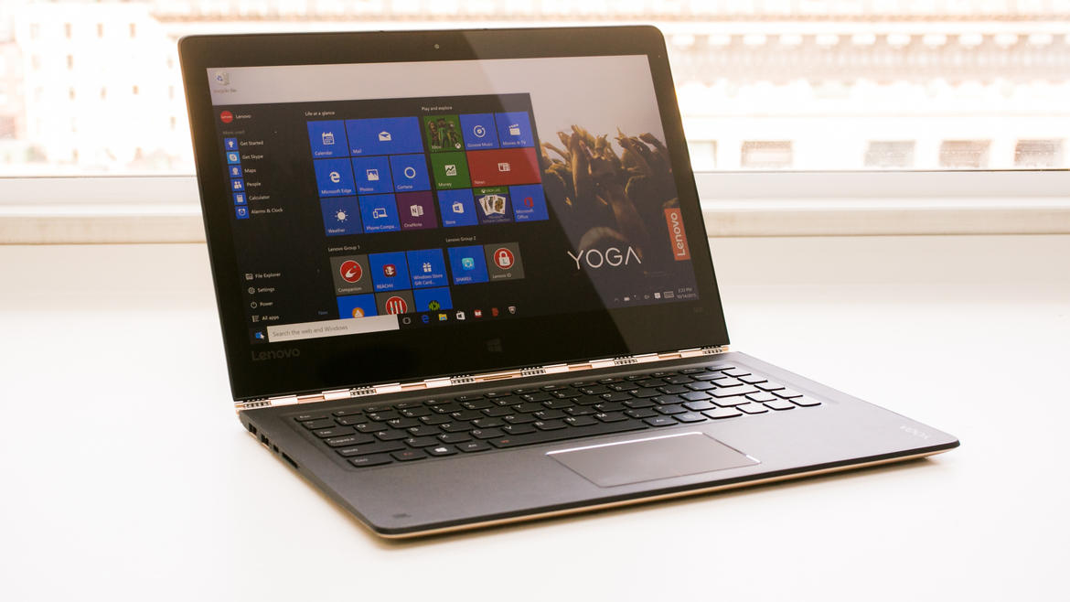 Lenovo Yoga 900 im Test: Leichtes Convertible-Notebook mit ...
