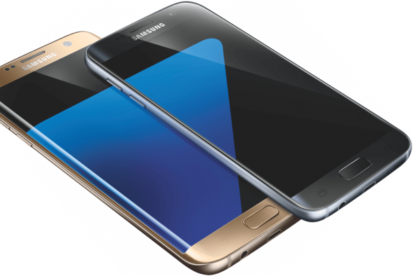 "Galaxy S7 (Bild: Samsung via <a href=""http://venturebeat.com/2016/01/04/samsung-galaxy-s7-and-s7-edge-will-feature-microsd-water-resistance-and-larger-batteries/"">@evleaks</a>)"