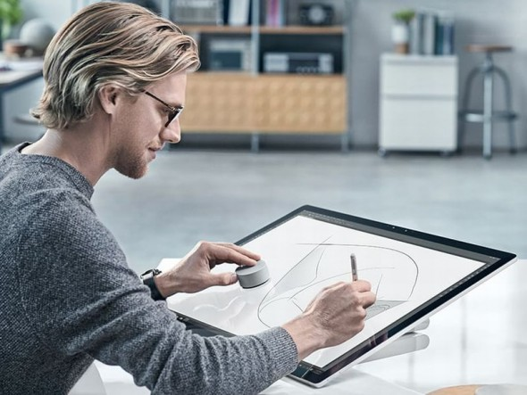 Surface Studio und Surface Dial