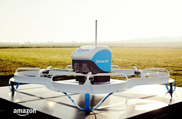 Amazon Prime Air Lieferdrohne in der Private Beta