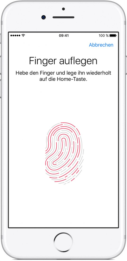 Touch ID (Bild: Apple)
