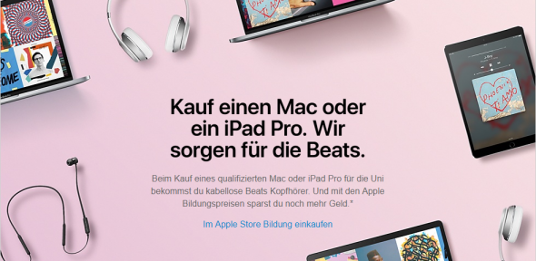 Back to School (Bild: Apple)