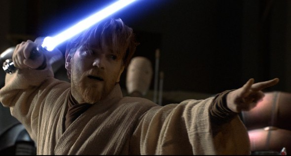 "Ewan McGregor in George Lucas' ""Star Wars: Episode II - Angriff der Klonkrieger"""