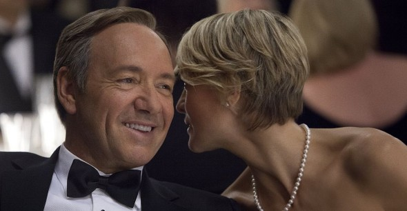 "Kevin Spacey in seiner Paraderolle des machthungrigen Politikers Ron Underwood in der Serie ""House of Cards"""