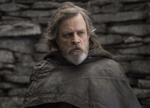 "Mark Hamill als Luke Skywalker in ""Star Wars: Die letzten Jedi"""