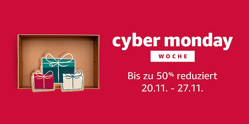 Amazon Cyber Monday Countdown 2017: Elektronik-Highlights des fünften Angebotstages