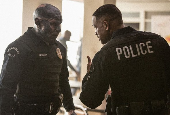 "Joel Edgerton und Will Smith in Netflix' ""Bright"""