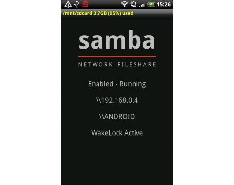 "<b>Samba Filesharing</b><br /><br /><a href=""http://www.cnet.de/blogs/mobile/android-app/41552896/samba_filesharing_fuer_android_das_smartphone_ins_heim_ne"